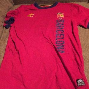 Umbro Barcelona Team T Shirt